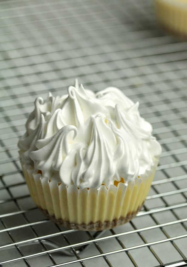 cover with meringue