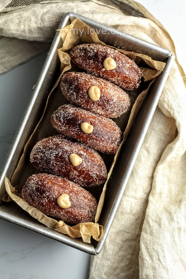 vegan sourdough doughnuts
