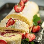 sponge roll cake