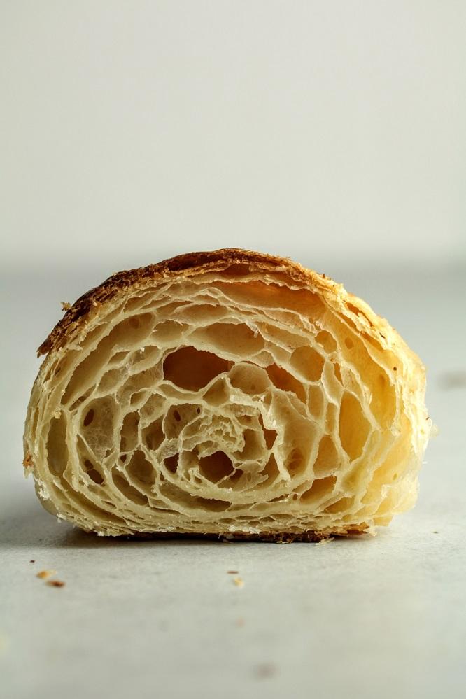 croissant honey comb