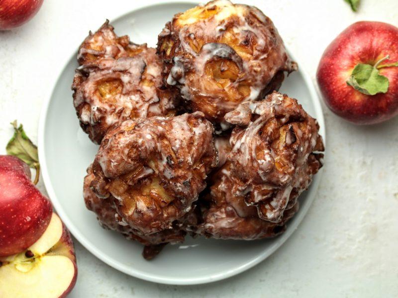 Sourdough Apple Fritters