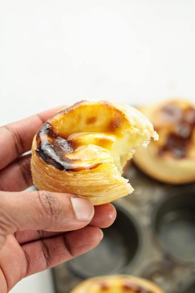 Portuguese custard tarts