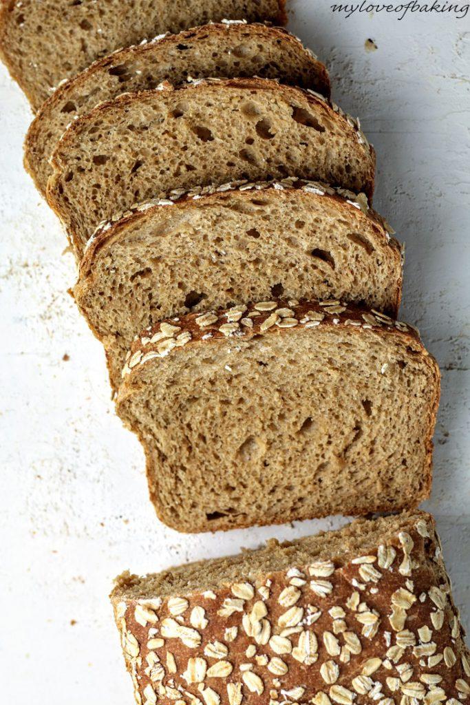 molasses oat loaf
