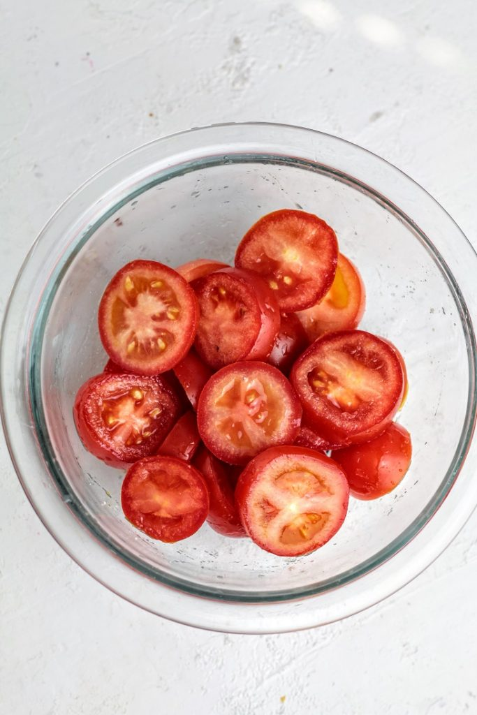 tomatoes and salt