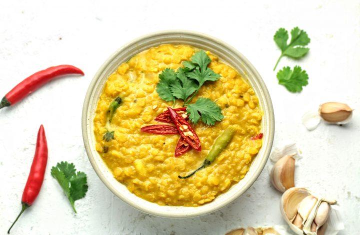 Sri Lankan dal curry
