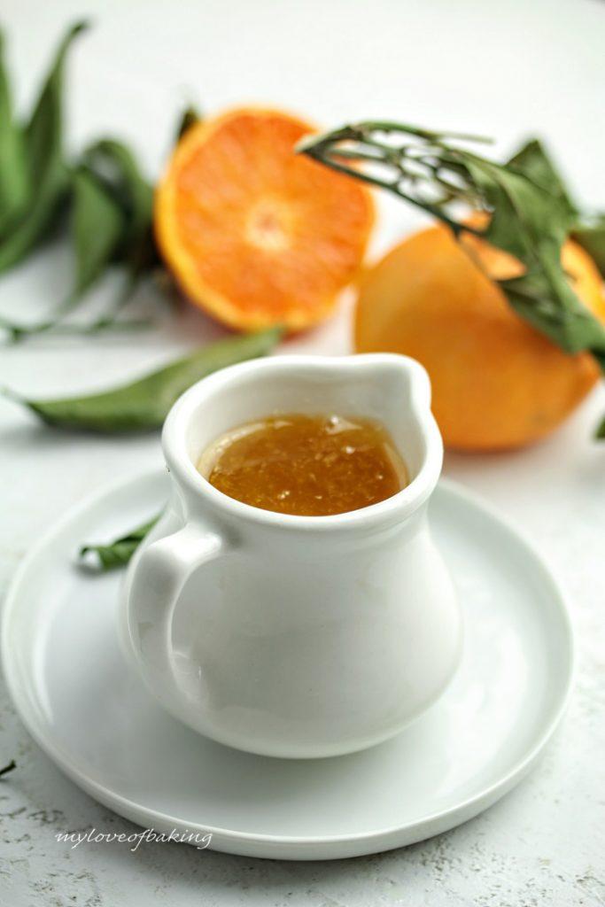 The Orange syrup