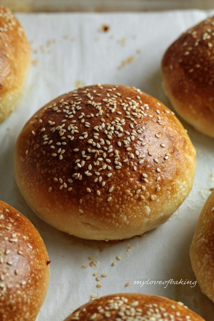 sourdough potato buns
