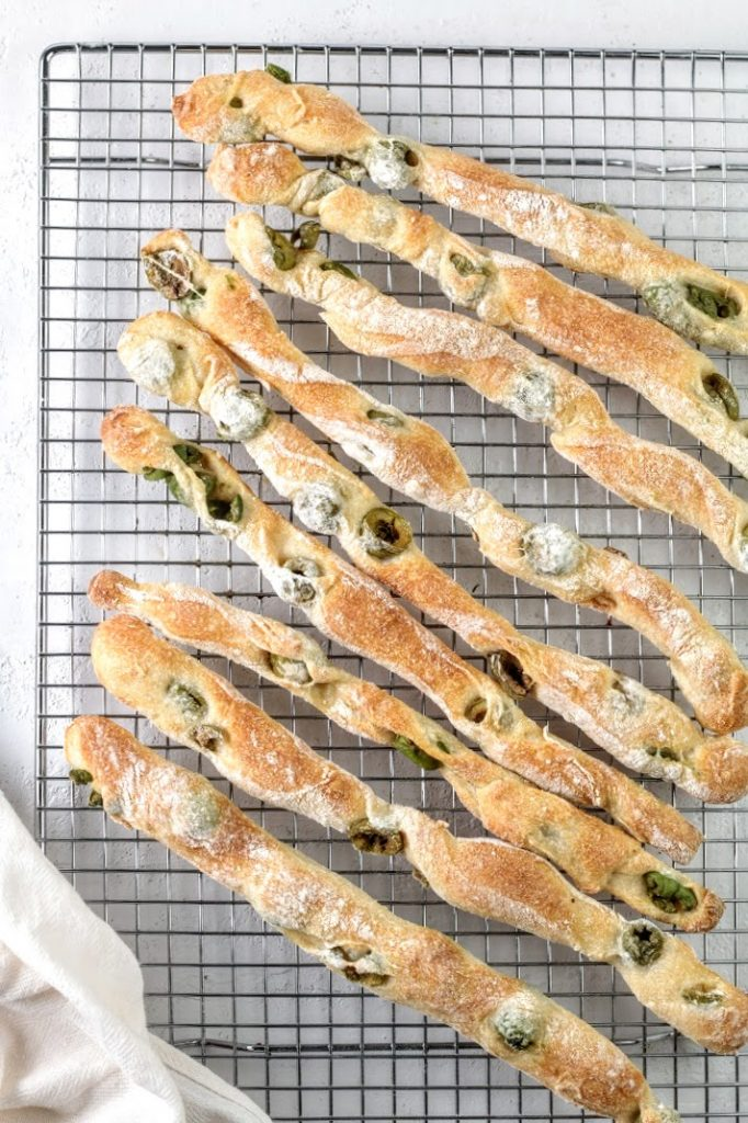 baked breadsticks