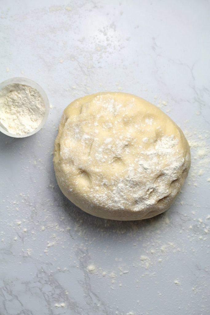thawed dough