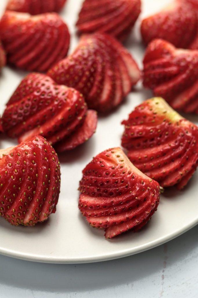 prepare the fruit