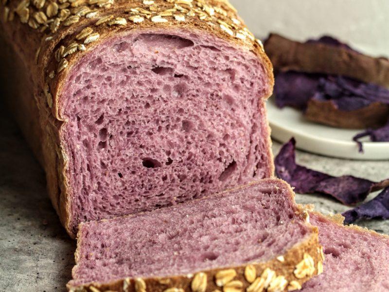 purple sweet potato loaf