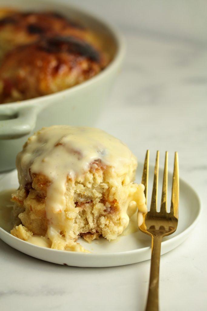 hot cross pudding