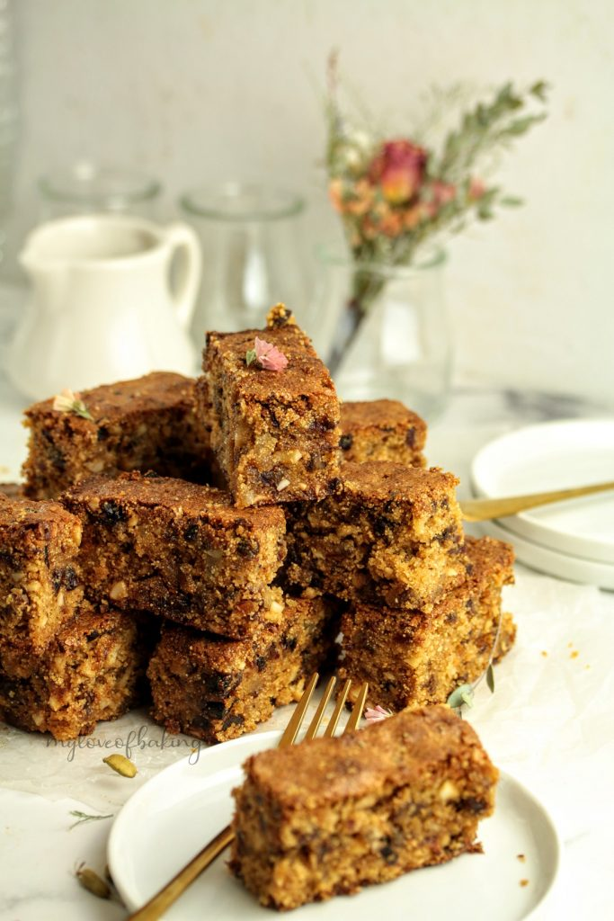 Fruit & Nut Jaggery cake