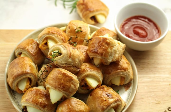 egg puff party bites