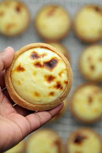 Baked Cheese Tarts(Hokkaido style)