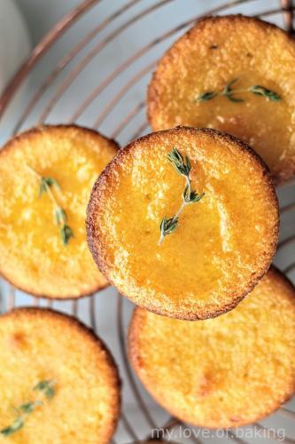 Flourless Orange Mini Cakes
